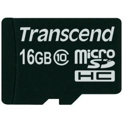 TRANSCEND MICRO SD 16GB CLASE 10 NO ADAP