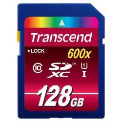 TRANSCEND 128GB SDXC CARD CLASS 10UHS-I 600X