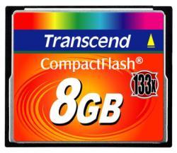 TRANSCEND 8GB COMPACT FLASH (133X)