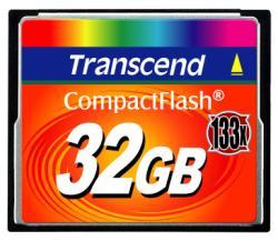 TRANSCEND 32GB COMPACT FLASH (133X)