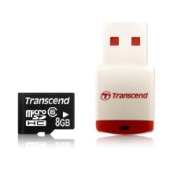 TRANSCEND 8GB MICROSDHC CLASS 10  LECTOR