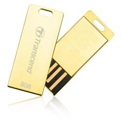 TRANSCEND 8GB JETFLASH T3G  GOLDEN