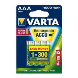 BLX4 AAA 1000MAH VARTA READY TO USE