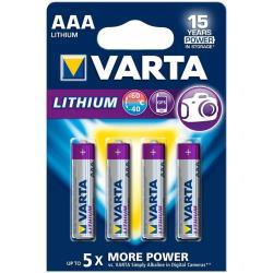 VARTA BLX4 AAA PROFESSIONAL LITHIUM 1 5V