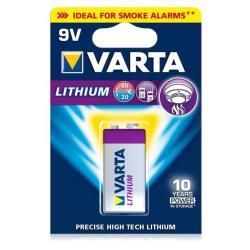 VARTA BLX1 9V PROFESSIONAL LITHIUM 9V