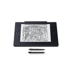 Wacom Intuos Pro Paper Edition Medium - digitalizador - USB, Bluetooth - negro