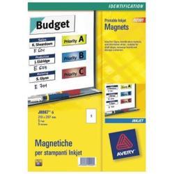 ETIQUETA MAG BLANCA 50X140 5H AVERY