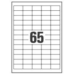 EIQUETAS MIN 38.1X21.2 25H AVERY