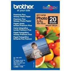 BROTHER PAPEL GLOSSY 10X15 260G/M2 20H