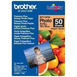 BROTHER PAPEL GLOSSY 10X15 260G/M2 50H