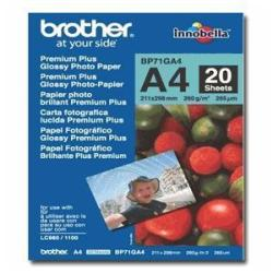 Brother Innobella Premium Plus BP71GA4 - papel fotográfico brillante - 20 hoja(s) - A4 - 260 g/m²