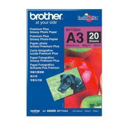 Brother Innobella Premium Plus BP71GA3 - papel fotográfico brillante - 20 hoja(s) - A3 - 260 g/m²