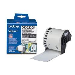 Brother DK-22205 - papel térmico - Rodillo (6,2 cm x 30,5 m)