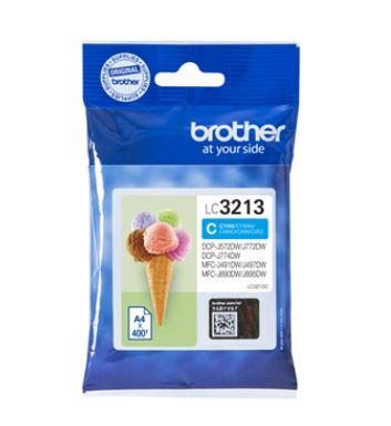 Brother LC3213C - Alto rendimiento - cián - original - cartucho de tinta