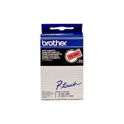BROTHER CINTA ROTULADORA ROJO/NEGRO 9MM