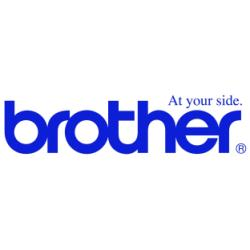 BROTHER CINTA ROTULADORA BLANCO/ROJO 18MM