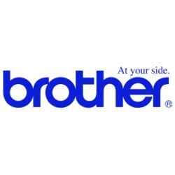 BROTHER CINTA ROTULADORA BLANCO/ROJO 24MM