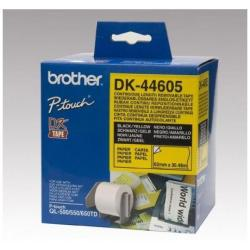 BROTHER CINTA CONT PAPEL AMARILL REMOV 62MM