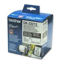 Brother DK-22212 - cinta - Rollo (6,2 cm x 15,2 m)
