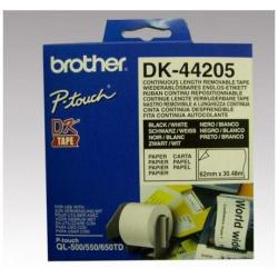 BROTHER CINTA CONT PAPEL BLANCA REMOV 62MM