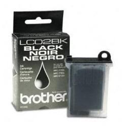 TINTA NEGRO LC02BK BROTHER