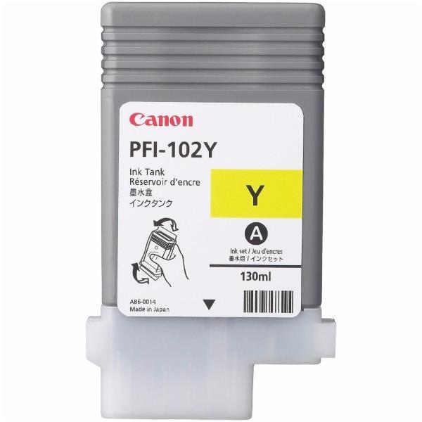 Canon LUCIA PFI-102 Y - amarillo - original - depósito de tinta