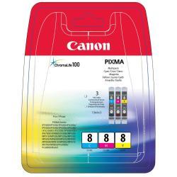 CANON TINTAS CLI-8 C/M/Y