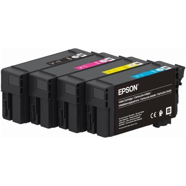 Epson T40D240 - cián - original - cartucho de tinta
