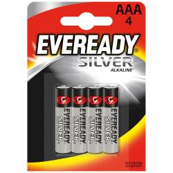 ENERGIZER PILA AAA EVEREADY SILVER X4