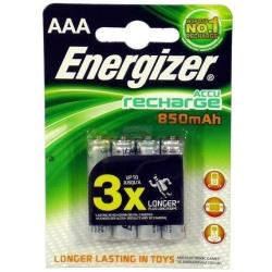 ENERGIZER PILA REC AAA 850MAH POWER PLUS X4