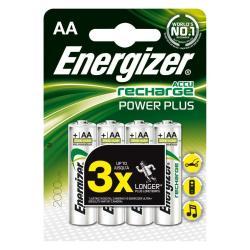 ENERGIZER PILA REC POWER PLUS AA 2000MAH  X4