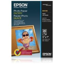 EPSON PHOTO PAPER GLOSSY 13X18CM 20 PAG.