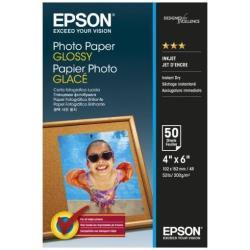 Epson - papel fotográfico brillante - 50 hoja(s) - 102 x 152 mm - 200 g/m²