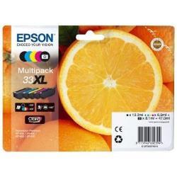 EPSON TINTA CLARIA 33 MULTIPACK PREM XL