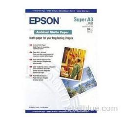 Epson Archival - papel - 50 hoja(s) - Super A3/B - 192 g/m²