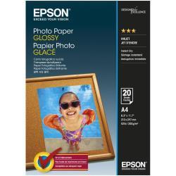 Epson - papel fotográfico brillante - 20 hoja(s) - A4 - 200 g/m²