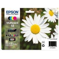EPSON MULTIPACK 4-COLORES 18 CLARIA  BL