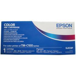 EPSON TINTA 4 COLORES CMYK PARA TM-C100