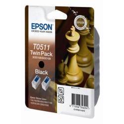 EPSON TINTA NEGRA SC 800/850/1520 PK2 SEG
