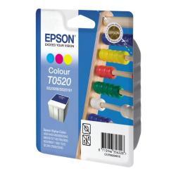 Epson T052 - color (cian, magenta, amarillo) - original - cartucho de tinta
