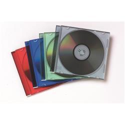 FELLOWES PACK DE 10 CAJAS CD SLIM SURTIDO