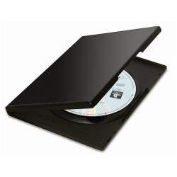 FELLOWES PACK DE 5 CAJAS DVD NEGRO