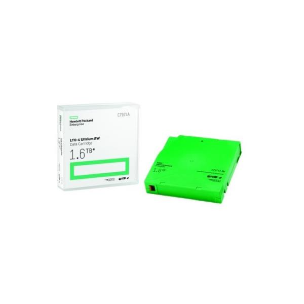 HPE RW Data Cartridge - LTO Ultrium 4 x 1 - 800 GB - soportes de almacenamiento