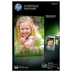 HP INC PAPEL FOTO SATINADO 100H 10X15CM