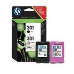 HP INC HP 301 COMBO 2-PACK BLACK-TRICOLOR