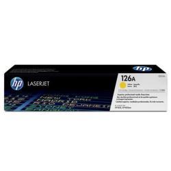 HP INC TONER  AMARILLO 126A LASERJET