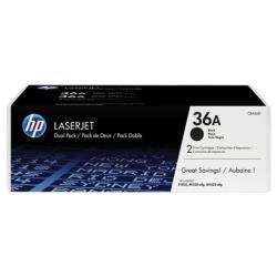 HP INC TONER NEGRO LASERJET CB436A PACK 2