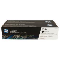 HP INC TONER NEGRO 126A LASERJET PACK 2