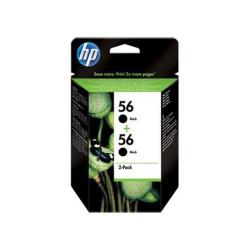 HP INC TINTA NEGRA HP 56 PK 2