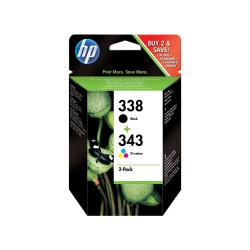 HP INC PACK TINTAS HP 338/343